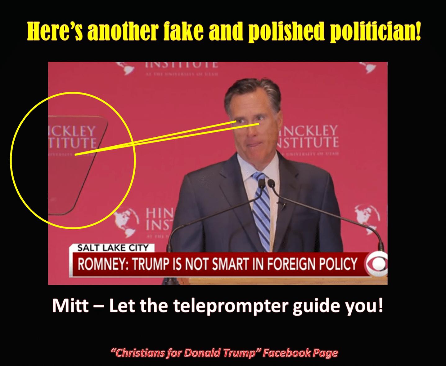 Romney idiot